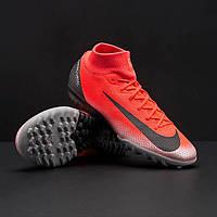 b04259e0 Сороконожки Nike MercurialX SuperflyX 6 Academy CR7 TF AJ3568-600 (Оригинал)