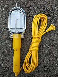Лампа переносная светодиодная PR-220-10 220В (шнур 10м) 24 led