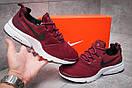 Кроссовки мужские Nike Air Presto, бордовые (13292) размеры в наличии ► [  44 45  ], фото 2