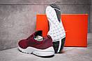 Кроссовки мужские Nike Air Presto, бордовые (13292) размеры в наличии ► [  44 45  ], фото 4