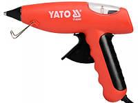 Клеевой термопистолет YATO 20(80)Вт для стержней 11.2мм