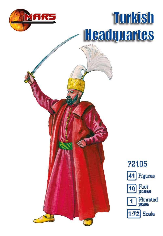 ТУРЕЦКИЙ ШТАБ. 1/72 MARS 72105