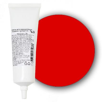 Краситель пищевой гелевый  красный Алый  100 мл Галетте -00315