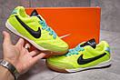 Кроссовки мужские Nike Tiempo, салатовые (13954) размеры в наличии ► [  37 38  ], фото 2