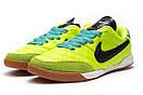 Кроссовки мужские Nike Tiempo, салатовые (13954) размеры в наличии ► [  37 38  ], фото 7