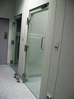 Самодоводящиеся петли с встроенным доводчиком для стеклянных дверей NK-153 (Япония)