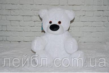 Плюшевий ведмедик Бублик білий 77 см