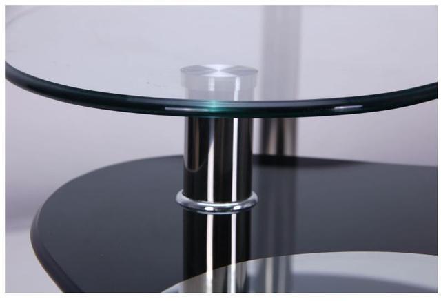 Стол журнальный Алегро B58 закаленное стекло (Фото 8)
