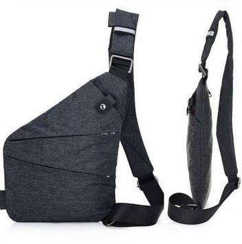 Мужская сумка мессенджер Cross body / слинг Кросс боди.