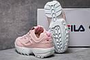 Кроссовки женские  Fila Disruptor, розовые (14252) размеры в наличии ► [  38 39  ], фото 4