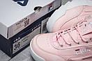 Кроссовки женские  Fila Disruptor, розовые (14252) размеры в наличии ► [  38 39  ], фото 6