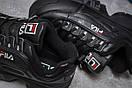 Кроссовки женские  Fila Disruptor 2, черные (13557) размеры в наличии ► [  40 (последняя пара)  ], фото 6