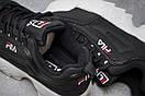 Кроссовки женские  Fila Disruptor 2, черные (14482) размеры в наличии ► [  37 (последняя пара)  ], фото 6