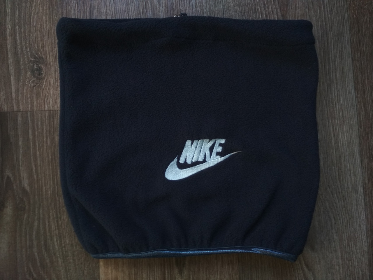 Горловик Nike на утепленном флисе (темно-синий) реплика