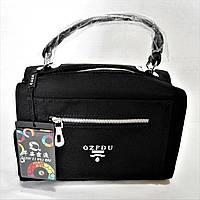 Эксклюзивная женская сумочка черного цвета ССМ-088371, фото 1