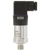 Датчик тиску WIKA S-20, 0..16 bar, G1/2В, 4-20mA.