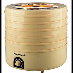 Электросушилка для продуктов ViLgrand VDF520-20 на 20 л, 5 ярусов