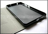 Черный чехол книжка Elegant для Lenovo phab pb1-750m в коже PU, противоударный , фото 4