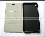 Черный чехол книжка Elegant для Lenovo phab pb1-750m в коже PU, противоударный , фото 6