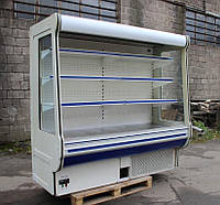 "Холодильная Горка ( РЕГАЛ) ""COLD R-20"" 2.0 м. БУ, фото 1"