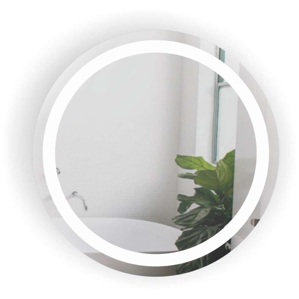 Дзеркало кругле у ванну кімнату Контур БЦ-Стол