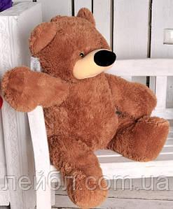 Плюшевий ведмедик Бублик коричневий 77 см