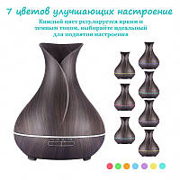 Увлажнитель воздуха ароматизатор Pretty Vase Dark