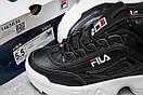 Кроссовки женские  FILA Disruptor, черные (14634) размеры в наличии ► [  37 38 39 41  ], фото 6