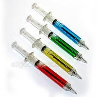 Ручка в виде шприца. Ручка - шприц