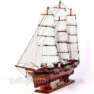 Модель парусника Gourch Fock - фото