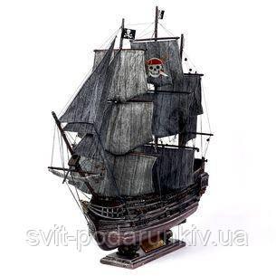 Модель пиратского корабля Черная Жемчужина - фото