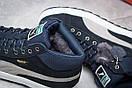 Зимние кроссовки Puma Suede, темно-синие (30161) размеры в наличии ► [  44 (последняя пара)  ], фото 6