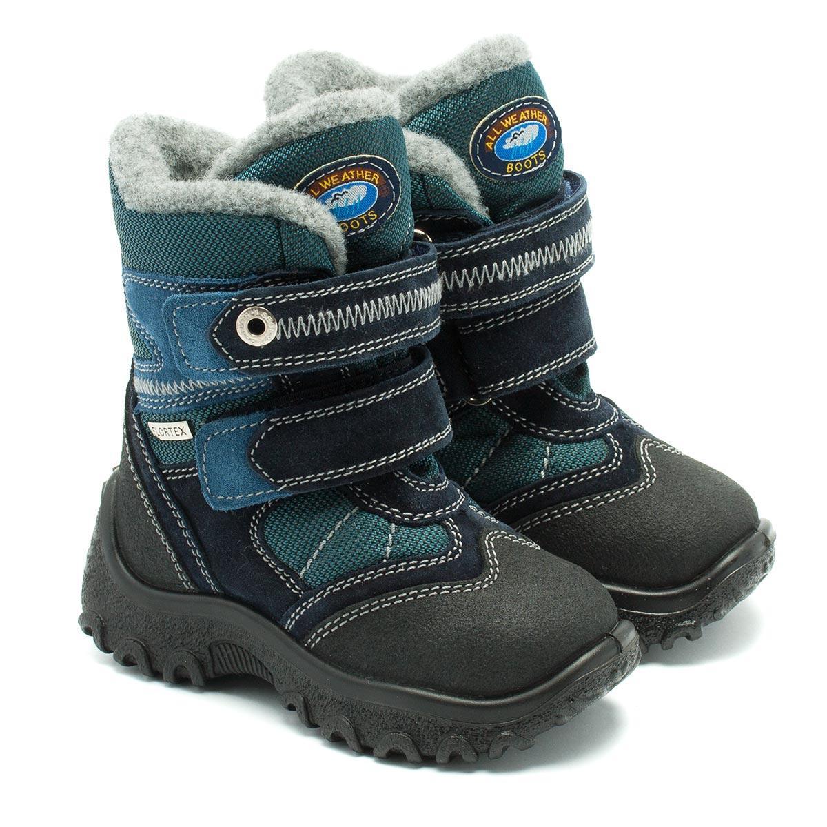 Зимние ботинки Kapika, мембранные, для мальчика, размер 24-29