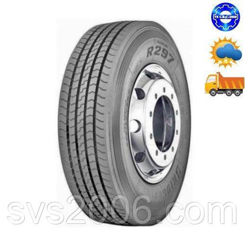 Bridgestone Шина грузовая R297 295/80R22,5 рулевая ось