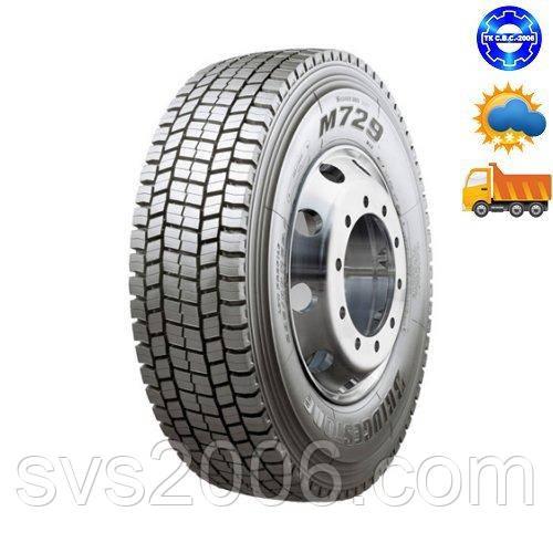 Bridgestone Шина грузовая M729 315/70R22,5 ведущая ось
