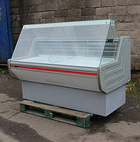 "Холодильная витрина ""Технохолод МОНТАНА"" ПВХС 1,6 м. Бу, фото 1"