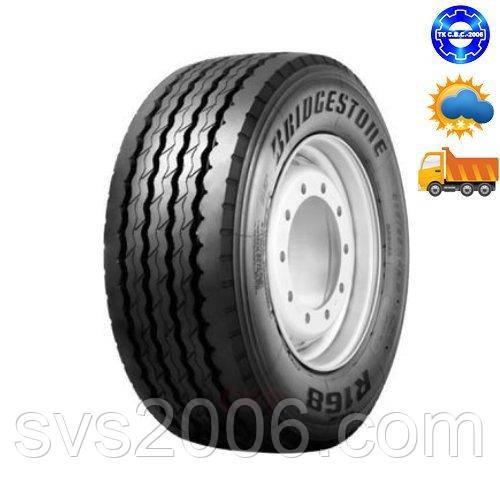 Шина Bridgestone вантажна R168+ 385/65R22,5 причіпна вісь