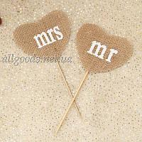 Фотобутафория для фотосессии: таблички свадебные