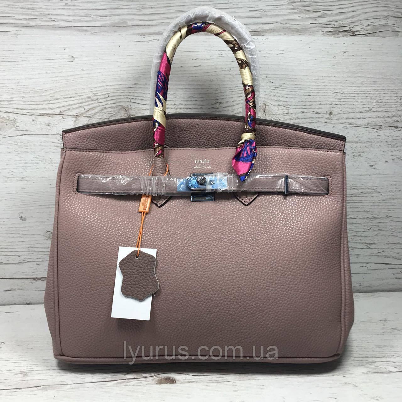Женская сумка в стиле Hermes Birkin