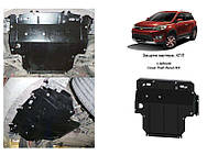 Защита на двигатель, КПП, радиатор для Great Wall Haval M4 (2013-) Mодификация: 1,5 Кольчуга 2.0494.00 Покрытие: Zipoflex