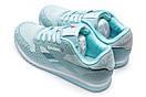 Кроссовки женские Reebok Classic, голубой (12815) размеры в наличии ► [  38 41  ], фото 8