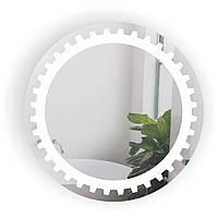 Дзеркало кругле у ванну кімнату Шестерня БЦ-Стол