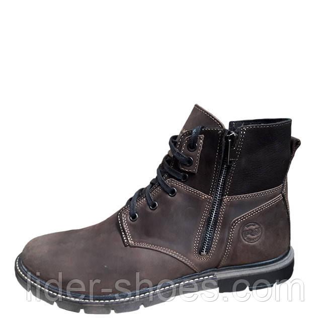 Мужские ботинки зимние на меху