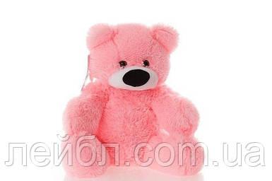 Плюшевий ведмедик Бублик рожевий 77 см