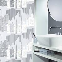 Шторка д/ванної SKILINE peva(Швейцария)   180х200 срібляста_10.11572
