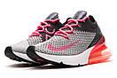 Кроссовки женские Nike Air 270, серые (13742) размеры в наличии ► [  37 38  ], фото 7