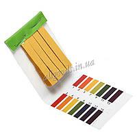 Полоски лакмусовые. Лакмусовая бумага 80 шт. (тест pH)