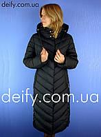 Пальто женское пуховик Svidni 1806 (Размер 48-58) Пальто Hailuozi 44e714f8bc494