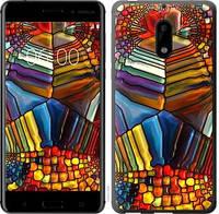 """Чехол на Nokia 6 Разноцветный витраж """"3343c-898-328"""""""