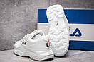 Кроссовки женские  Fila, белые (13931) размеры в наличии ► [  38 (последняя пара)  ], фото 4